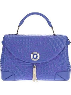 leather bags VERSACE Quilted Leather Bag leather bags shoes