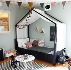 30 UNIQUE CHILD BEDROOMS THAT YOU CAN TRY Kids Room Ideas – More than ever, parents are carrying the latest contemporary design ideas into their kids' rooms. From soft neutral colors to natural textiles, children's bedrooms and playrooms are . Baby Bedroom, Girls Bedroom, Bedroom Decor, Childs Bedroom, Bedrooms, Wall Decor, Big Girl Rooms, Boy Room, Child's Room