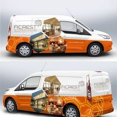 Design a clean and elegant car wrap for 2015 Ford Transit Connect Car, truck or van wrap contest car Toyota Prius, Toyota Tundra, Chevy Express, Ford Transit, Car Stickers, Car Decals, Van Signage, Design Autos, Vehicle Signage