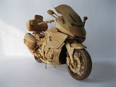 Wooden BMW K 1600 GTL Motorcycle Shows Up in Ukraine - autoevolution