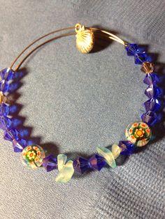 Under the Sea Stackable Bangle Bracelet on Etsy, $8.00