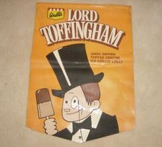 Lord Toffingham ice lollies