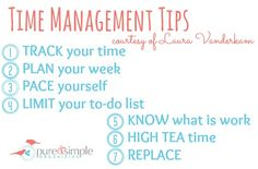 Time Management Tips  Pure  Simple