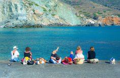 Summer loaded in Folegandros