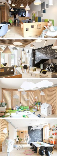 The interior designers at 28 Form, have completed the design of a café in Wroclaw, Poland, designed specifically with parents and children in mind.