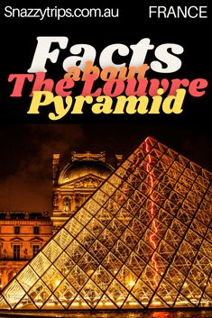 Unbelievable Louvre Pyramid Facts You Didn't Know 12 Europe Travel Tips, European Travel, Travel Guides, Travel Goals, Pyramids Of Giza, Louvre Pyramid, Luxor Temple, Facts You Didnt Know