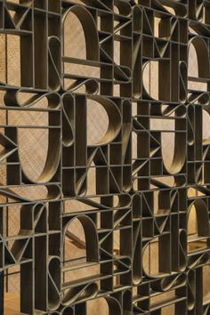 Agence 4bi Feature Wall Design, Divider Screen, Wall Finishes, Decorative Panels, Fireplace Design, Floor Design, Interior Walls, Custom Furniture, Textures Patterns