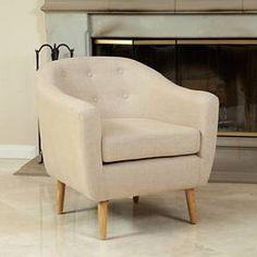 Metropolitan Club Chair - Black Tweed - Christopher Knight Home : Target