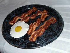 Fake Food - Bacon & Eggs