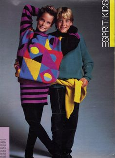 Espirit clothing was very popular during the 1980s because it was THE fashion store at the time. Description from pinterest.com. I searched for this on bing.com/images