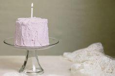 Blueberry Smash Cake