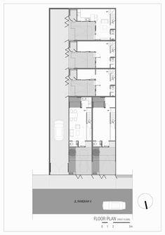 Compact House, Micro House, Minimalist House Design, Modern Minimalist, Surabaya, Apartment Furniture Layout, Monochromatic Color Scheme, Building Images, Home Budget