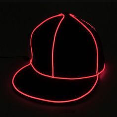 Men's Sun Hats Men's Hats Cooperative Led Light Sun Hats Glow Club Party Sports Athletic Black Fabric Travel Hat Caps Colorful Lights One Size Solid Cap Yi0