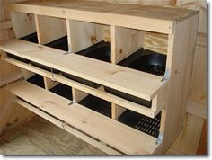 Chicken Laying Boxes | Chicken coops and chicken houses for backyard flock