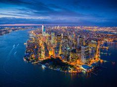 Ahhhh NYC at night, magical