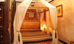 bed curtains and wall decoration ideas for bedroom decorating moroccan style