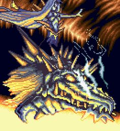 The final boss in Pretty Soldier Sailor Moon: Another Story a.k.a. Sailor Moon RPG (SNES/ Super Nintendo)