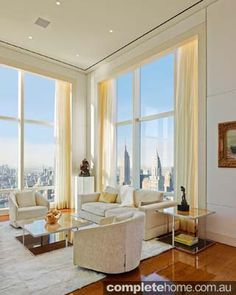 Once in a lifetime - luxury New York penthouse