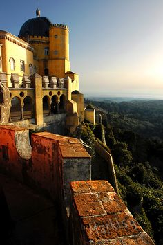 Sintra, Lisboa, Portugal going next week! Sintra Portugal, Ericeira Portugal, Spain And Portugal, Oh The Places You'll Go, Places Around The World, Places To Travel, Places To Visit, Around The Worlds, Dream Vacations