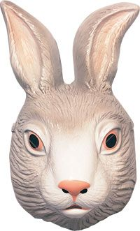 Rubie's Costume Co., Inc.Bunny Mask    what i wouldn't do for this...