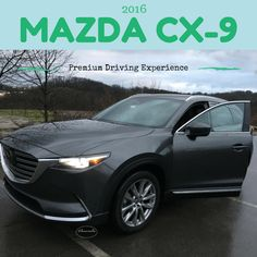 "#DriveMazda #testdrive #autoblogger #ad @mazda Mazda, Mazda CX-9, Drive Mazda, 2016, 20"" alloy wheels, awd, steering, power automatic door locks, cruise control, heated front seats, trailer stability assist, 3 row seating, 7 passenger, cargo space, led headlights with auto on/off, high beam control, roof mounted shark fin antenna, electronic parking brake, heated power mirrors, blind spot monitoring, 310 lb ft torque, 227 hp, all season tires, power moonroof, tilt leather steering, driver…"