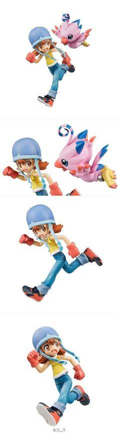 Amazon.com: Mega House GEM Series Digimon Adventure Sora & Piyomon: Toys & Games