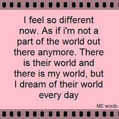 .it's okay to still have dreams. ...Isn't it? .......