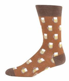 Sock It To Me Mens Crew Beer Socks