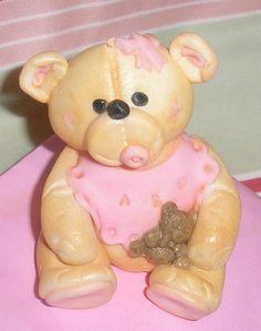 'lil Miss Honey Bear Miss Honey, Honey Bear, Cake Toppers, Teddy Bear, Cakes, Toys, Animals, Animales, Animaux