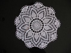 Ravelry: Tiffany (April) pattern by C. Strohmeyer. A Year of Doilies.