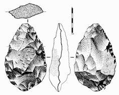 cuaderno de historia y geografía: La evolución de la industria lítica en el Paleolítico