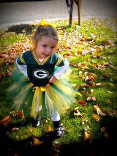 Custom Sports Tutu, Green Bay Packers colors shown, can do most team colors, Football, NFL,  for babies, toddlers, and girls