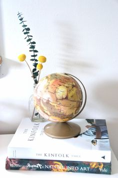 RARE vintage mars globe by SweetHomeCollective on Etsy