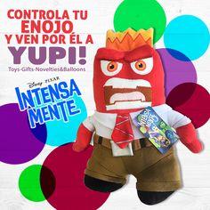 No te enojes más, tenemos a enojo y todos los personajes de #Intensamente en #Yupi! Ven por tu favorito. #DiloConYupi
