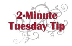 2-Minute Tuesday Tip Video - Leftover Ribbon Scraps