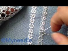 Hardanger embroidery. - YouTube More