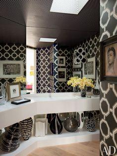 Contemporary Bathroom by Martyn Lawrence Bullard Design in Los  Angeles, California