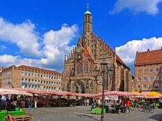 market day nurnberg germany