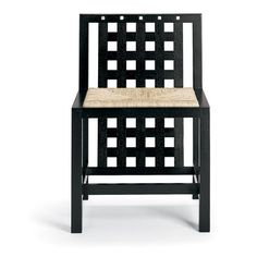 Mackintosh Chair, Mackintosh Furniture, Charles Rennie Mackintosh, Dinning Tables And Chairs, Morris Chair, Glasgow School Of Art, Take A Seat, Credenza, Stool