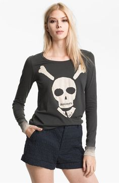 $98 MARC BY MARC JACOBS 'Bones About It' Tee available at #Nordstrom    I want thiiiisssssss.