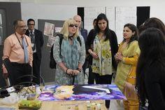 Coventry University (UK) visits DSK School of Fashion Design