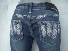 9db5343decc New womens jeans grace in LA bootcut waist 29