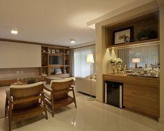 Residência de 400m² localizada em um Condomínio no bairro Taquaral em Campinas, o cliente necessitava de um projeto de design de interiores para a área social e íntima, e um projeto de arquitetura …