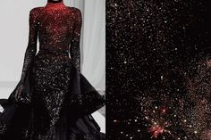 GIF of the month - Match #215 Details at Michael Cinco Fall 2013 | Fireworks in Hove, England Happy new year everyone, wishing you all the best for 2015! GIFed by What Do I Wear, more matches here