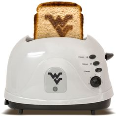 West Virginia University Mountaineers  - brand your bread with this toaster