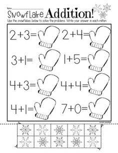 Print and Go! Winter Math and Literacy (NO PREP) ~ Save your self some precious ink and time this winter.  Super cute practice pages for Kindergarten with a winter and snow theme.  Great for homework, morning work, or independent centers!  Made to last from December through February.  Happy teaching! $