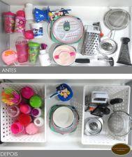 Dicas lá de casa- cozinha organizada e prática