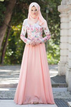 Evening Dress - Evening Dress - 7272SMN