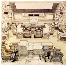 Ron Cobb, Syd Mead, W. Stout et les autres - Mad Movies