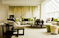 First-rate feng shui living room 2019 exclusive on dandj home decor Living Room New York, Living Room Green, Living Room Interior, Living Room Decor, Living Rooms, Bedroom Decor, Wall Decor, Green Rooms, Bedroom Ideas